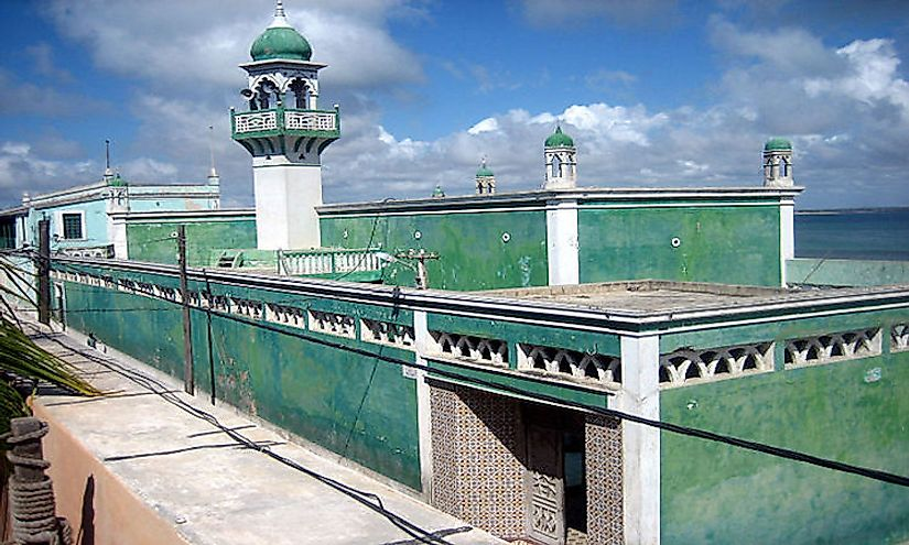 A mosque in Mozambique Island