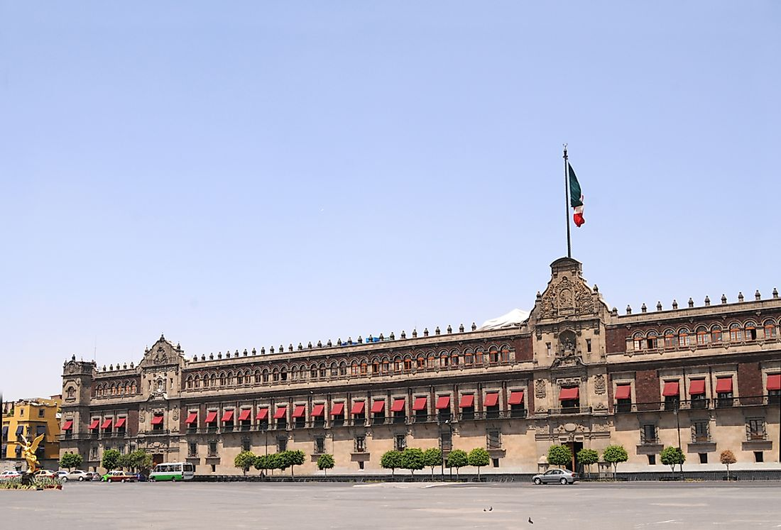 The National Palace, Mexico.