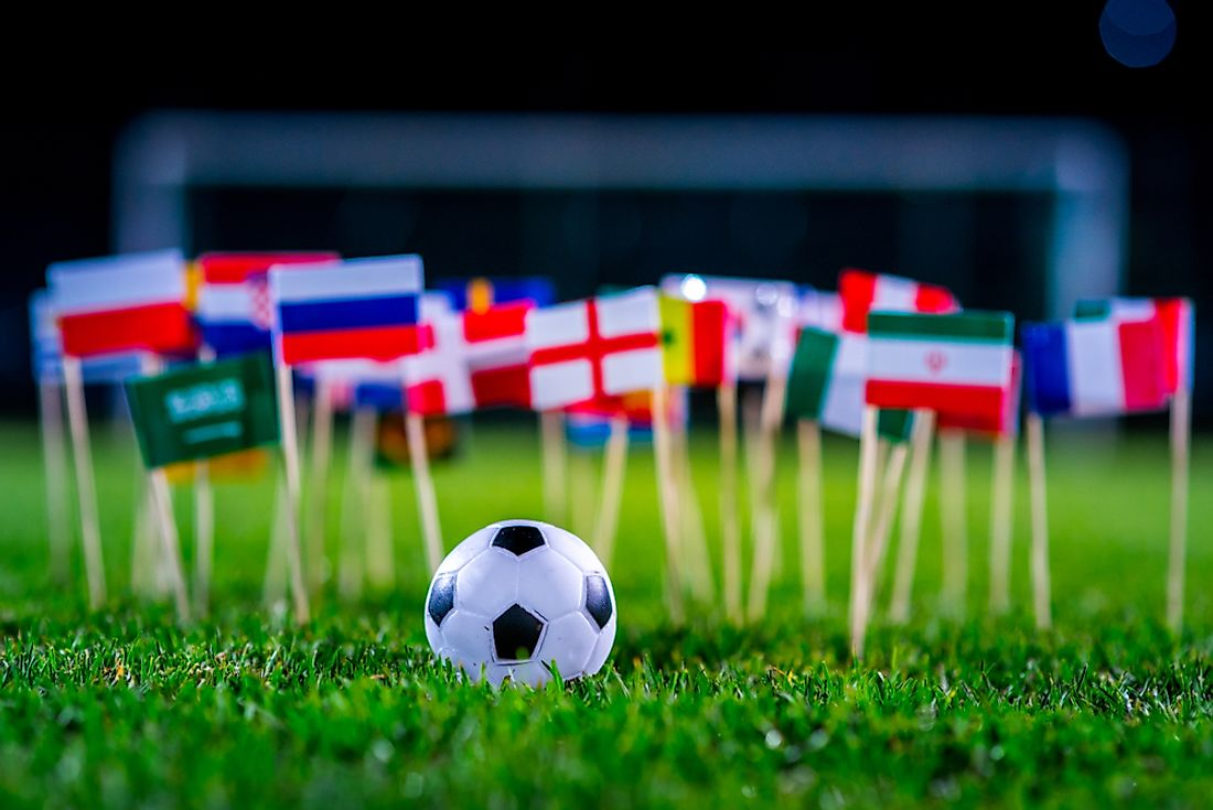 The World Cup involves the participation of several countries around the world.