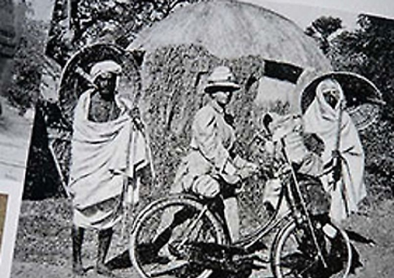 On a trip to what are now India, Sri Lanka, Myanmyar, and Indonesian Java, Fanny and her husband rode thousands of miles on bicycles.