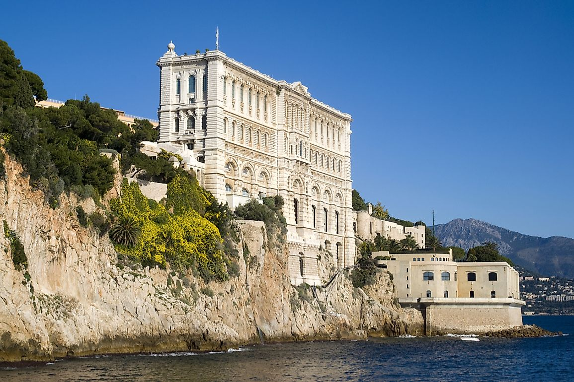 The Oceanographic Institute In Monaco