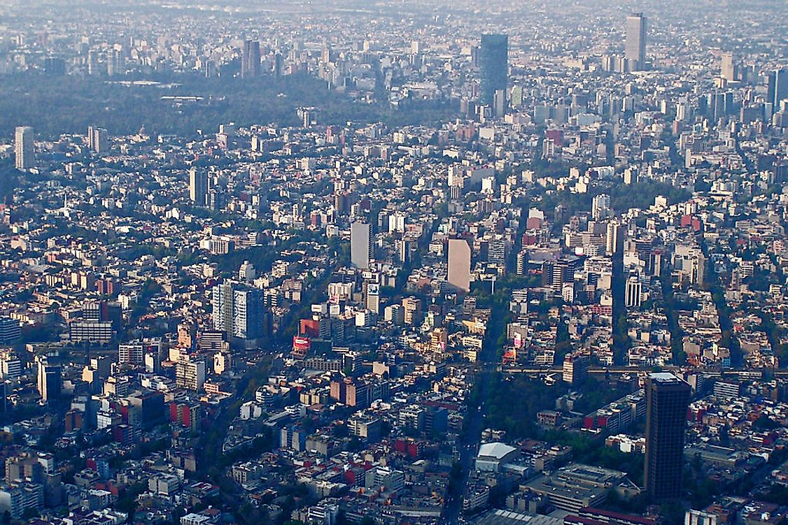Mexico City is the biggest city in Mexico, hosting a population of 8.56 million people.