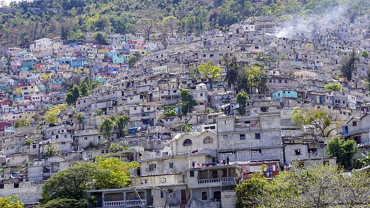 Port-au-Prince is the capital of Haiti.