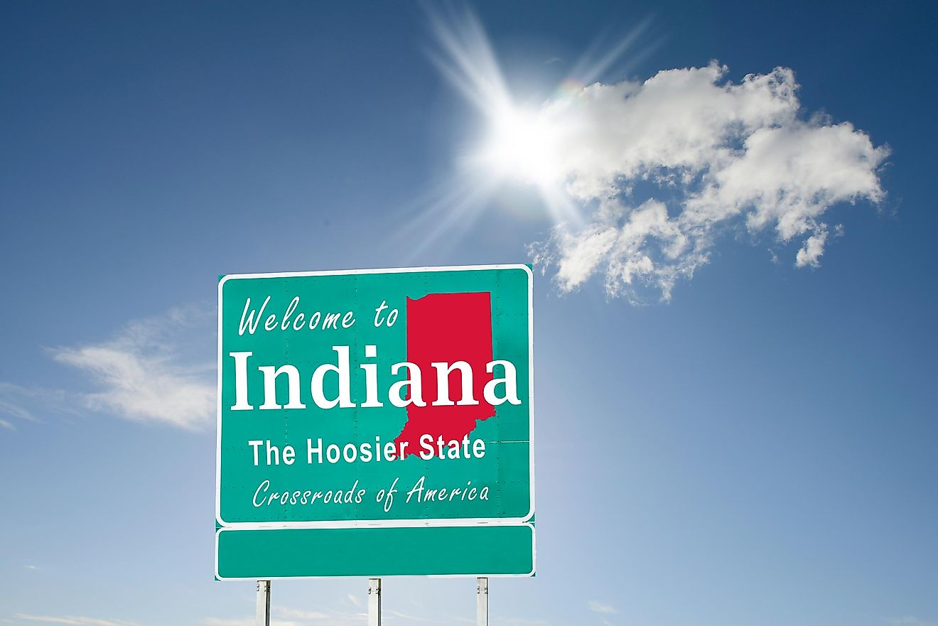 "Why is Indiana known as the ""Hoosier State""?"
