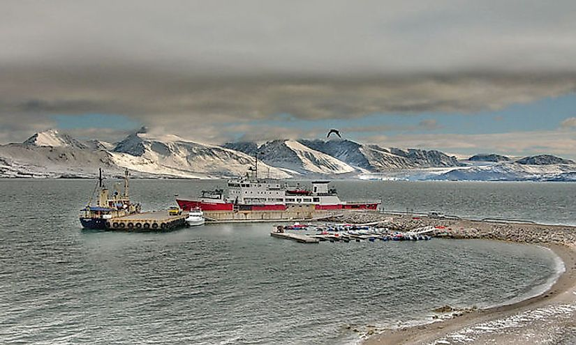 The Svalbard Islands are remote islands in the Arctic Ocean and are part of the overseas territory of Norway.