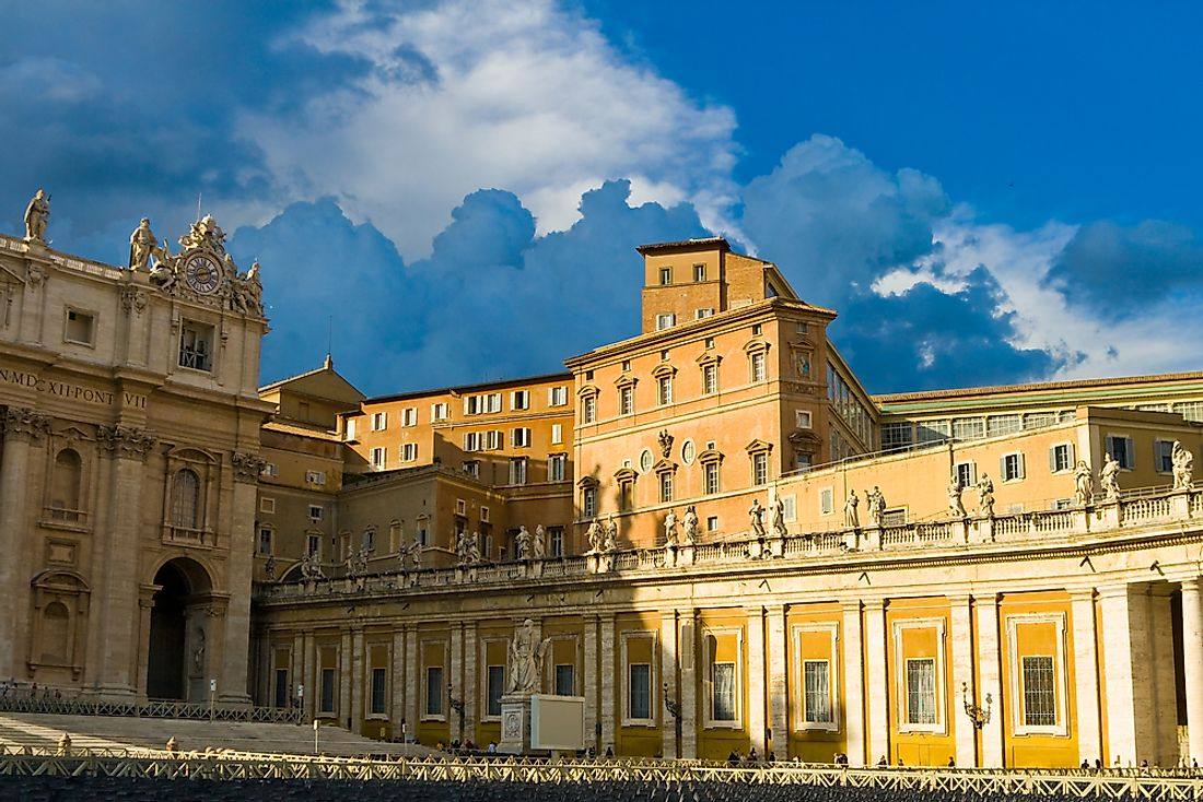 The official residence of the Pope in Vatican City.