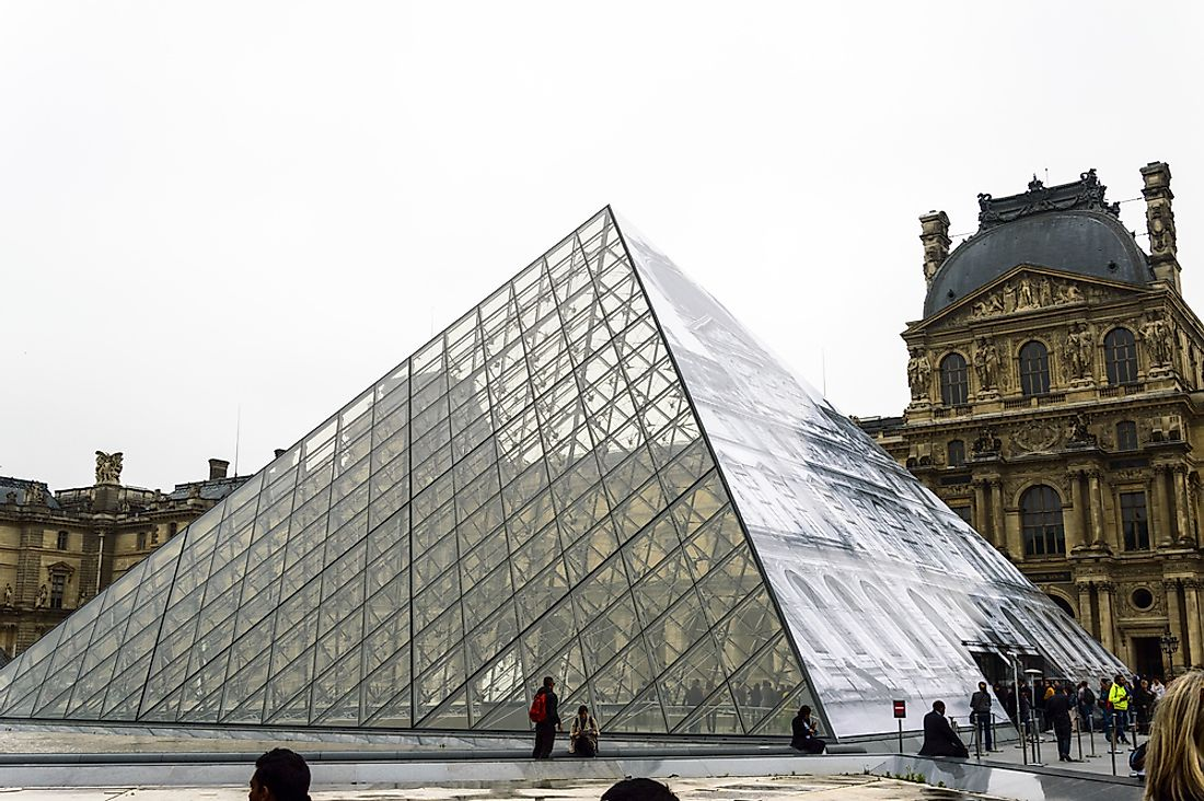 The Louvre is the largest art museum in the world.