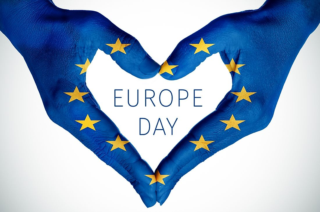 Europe Day exists to celebrate Europe.