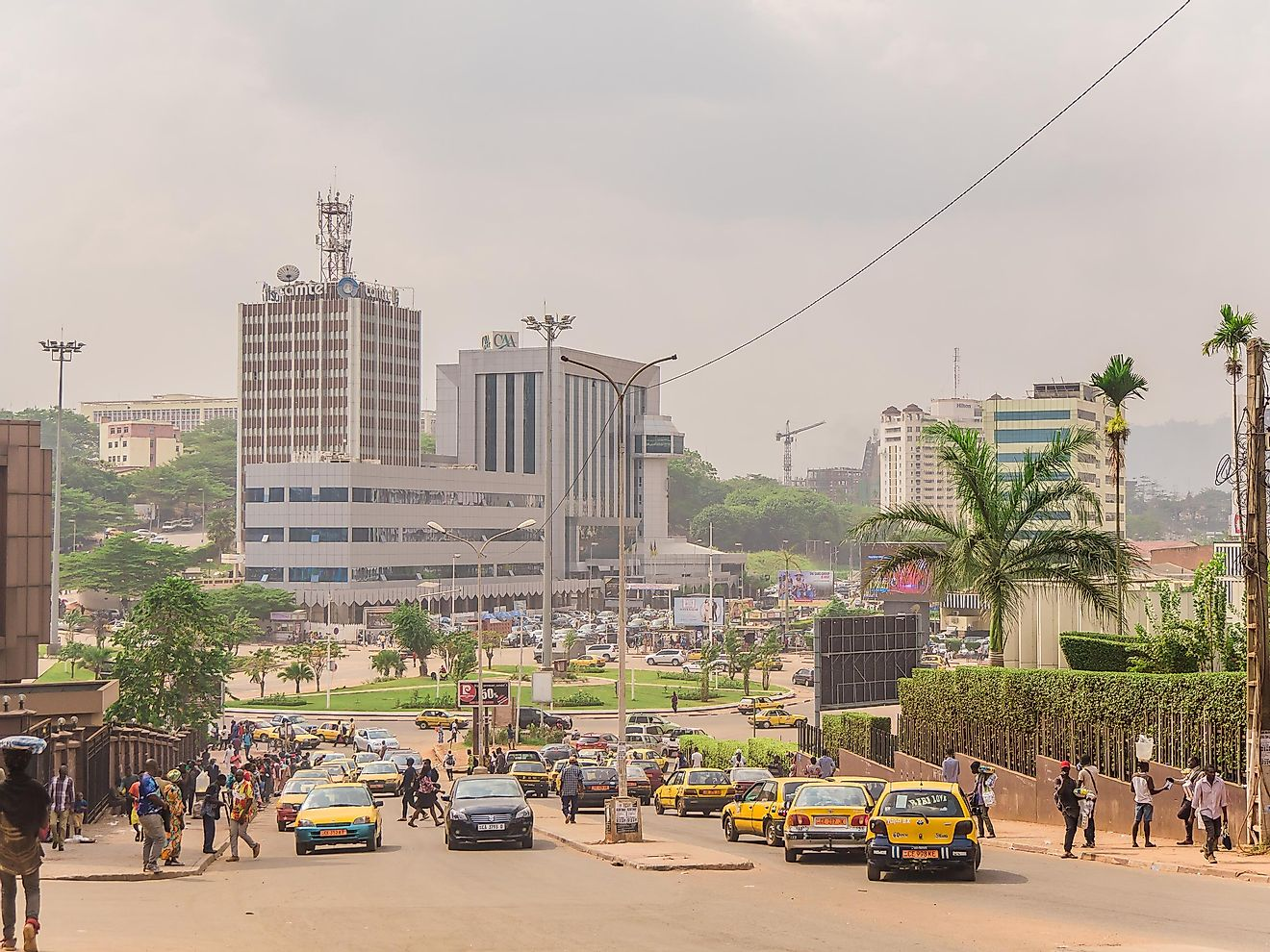 Yaounde is the capital of Cameroon and the second-largest city in the country, right after Douala. Image  credit: cyrilleyonnta / Shutterstock.com
