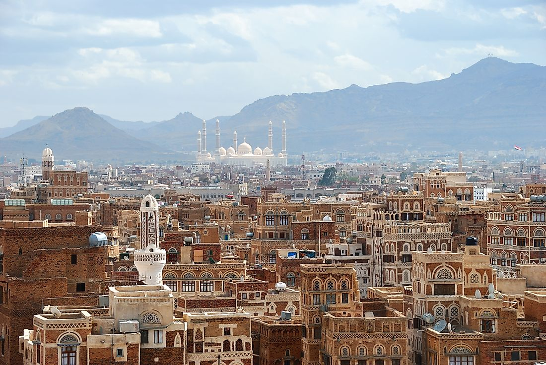Sana'a, an extremely historic city, has been mostly destroyed by the ongoing civil war in Yemen.