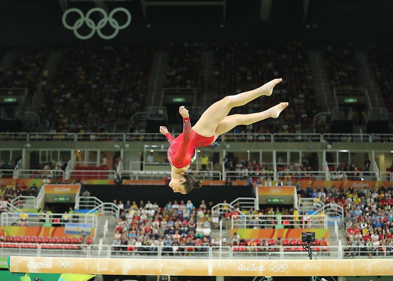 Gymnastics is one of the most watched Summer Olympic sports. Editorial credit: Leonard Zhukovsky / Shutterstock.com.