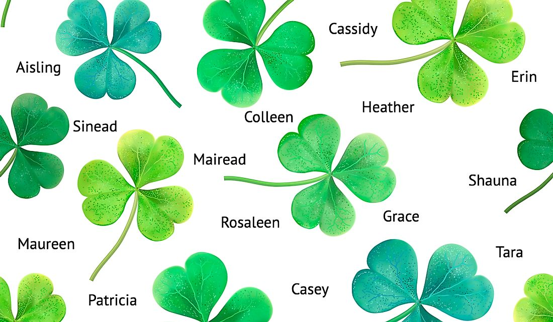 37+ Irish female names unique info