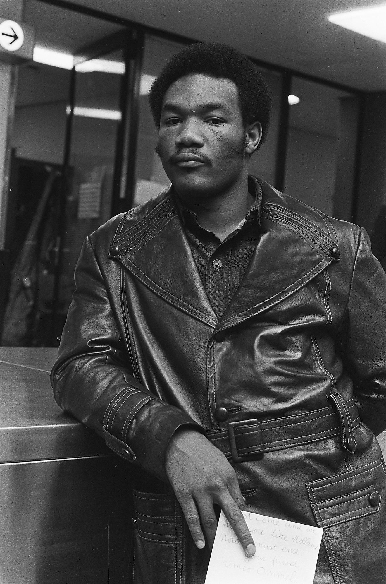 Foreman in 1973