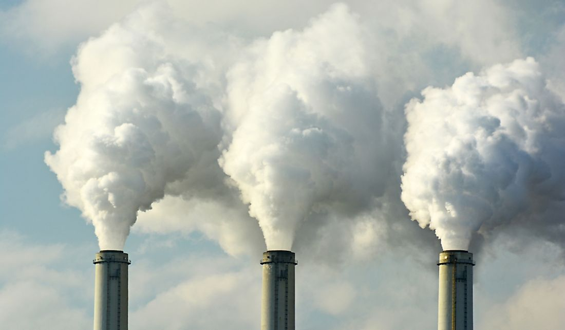 Carbon dioxide emissions are major contributors to pollution.