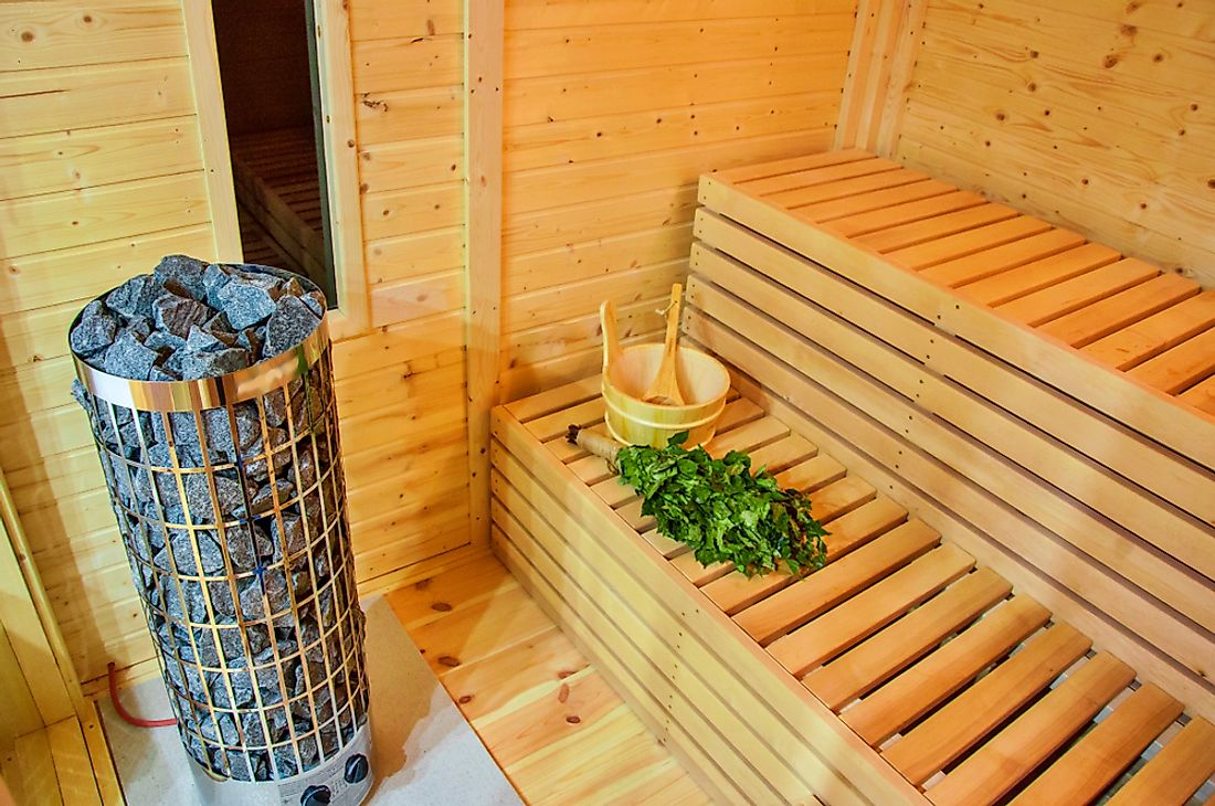 The sauna is an integral part of Finnish culture.
