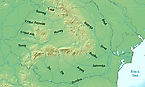 Major Rivers Of Romania