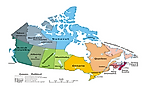 The Largest And Smallest Canadian Provinces/Territories By Area