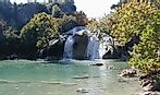 Turner Falls Waterfall, Oklahoma, United States