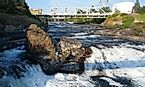 Spokane Falls Waterfall
