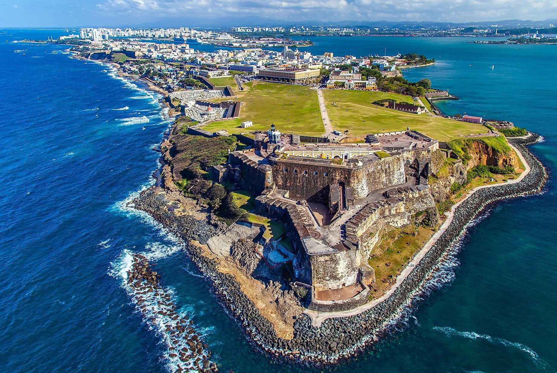 El Morro: Castle Ruins Of Puerto Rico