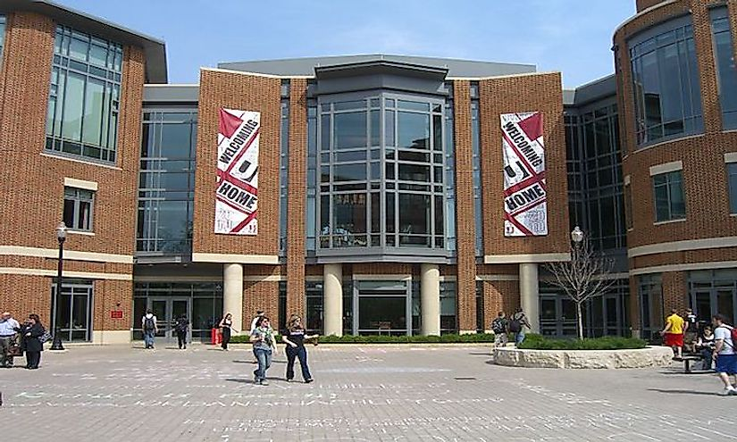 640px ohiounionfront Top 10 Largest Universities In United States By Enrollment