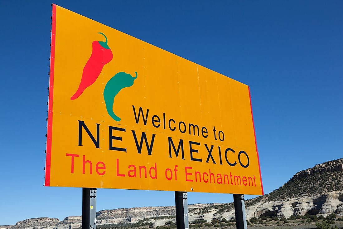 New Mexico was actually named 223 years before the country of Mexico existed