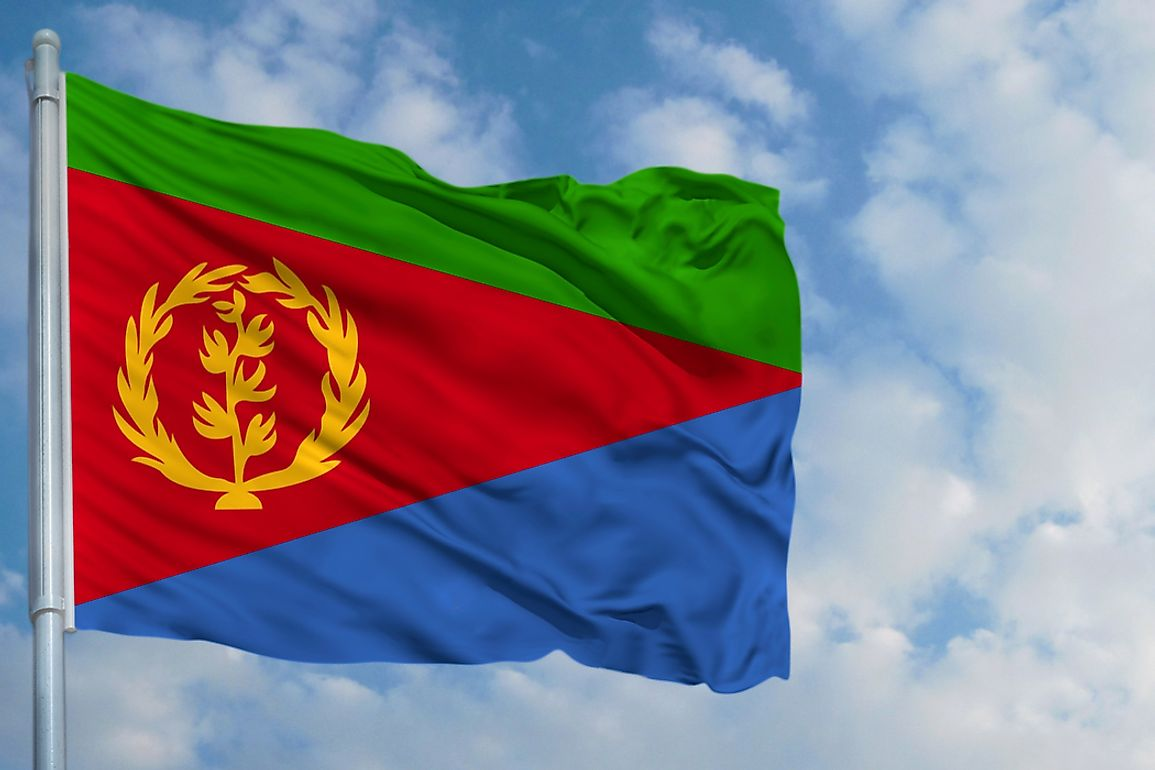 Download What Do The Colors And Symbols Of The Flag Of Eritrea Mean? - WorldAtlas