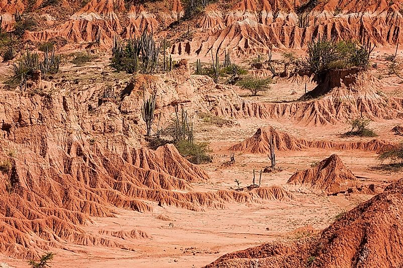 The Tatacoa Desert Of Colombia