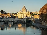 Where Does The Tiber River Begin And End?