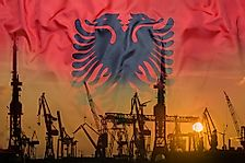 Which Are The Biggest Industries In Albania?