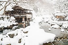 Where is Japan's Snow Country?