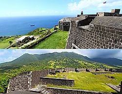 Brimstone Hill Fortress National Park, Saint Kitts And Nevis
