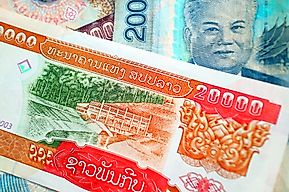 What is the Currency of Laos?