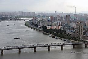 Major Rivers Of North Korea