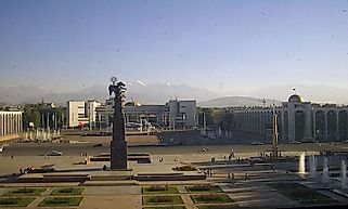 Biggest Cities In Kyrgyzstan