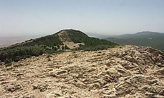 Highest Mountains In Tunisia