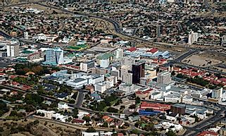 Biggest Cities In Namibia