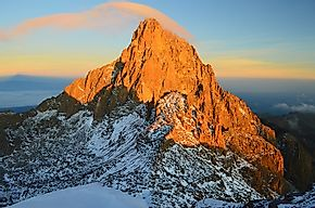 Highest Mountains In Kenya