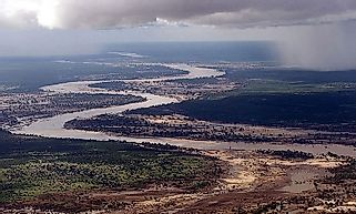 Major Rivers Of Mozambique