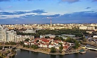 Biggest Cities In Belarus