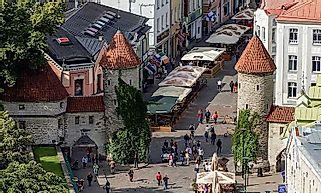 Biggest Cities In Estonia