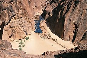 Ennedi Massif And Rock Art, Chad