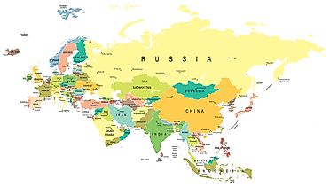 World Map World Atlas Atlas of the World Including Geography