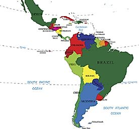 Countries That Make Up Latin America