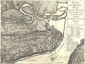 Battle of Quebec - The American Revolutionary War