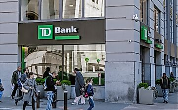 Where Is The Headquarters Of The Toronto-Dominion (TD) Bank Of Canada?