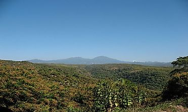 Highest Mountains In Paraguay