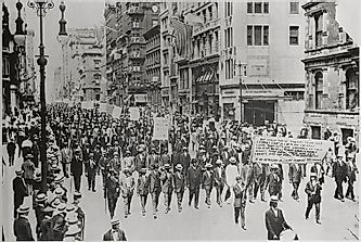 The Importance of the Silent Parade of 1917