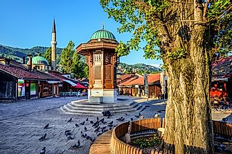 What Is The Capital Of Bosnia And Herzegovina?