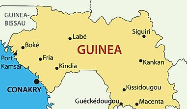 Which Countries Border Guinea?